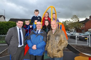 150518 launch of Drumbeg play area