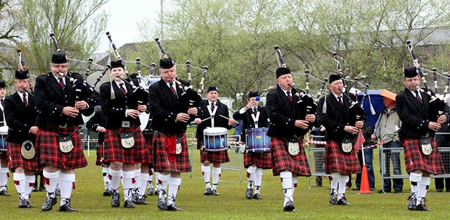 All Ireland Pipe Band