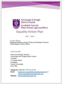 EqualityActionPlan1719FrontCover