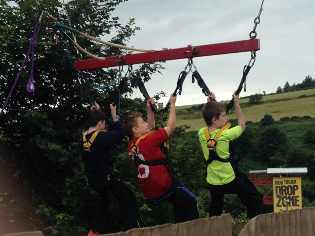 Young people enjoying the Better Together summer camp in August 2015