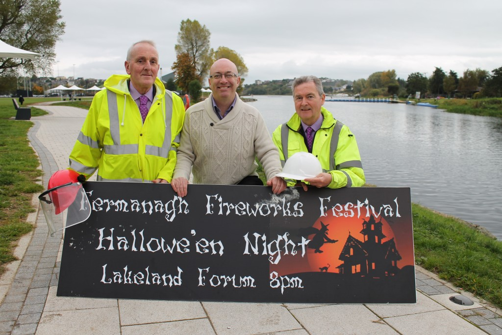 Fermanagh Fireworks Festival takes place on 31 Ocotber 2015 at 8 pm in Enniskillen