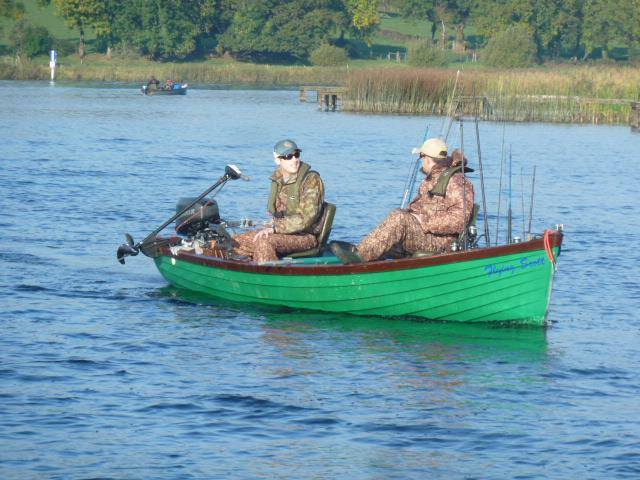 Waterways Ireland Erne Pike Fishing Classis took place on Lough Erne from 16 to 18 October 2015
