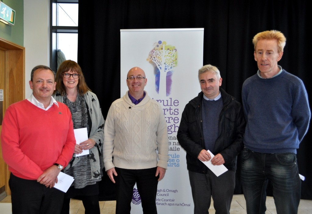The 25th Annual Irish Language Bursary Awards took place at Strule Arts Centre, Omagh on the afternoon of Thursday 22 October 2015