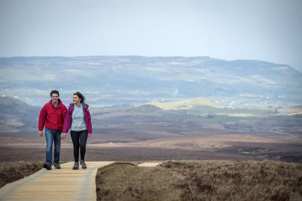 Cuilcagh Legnabrocky trail, Cuilcagh Mountain
