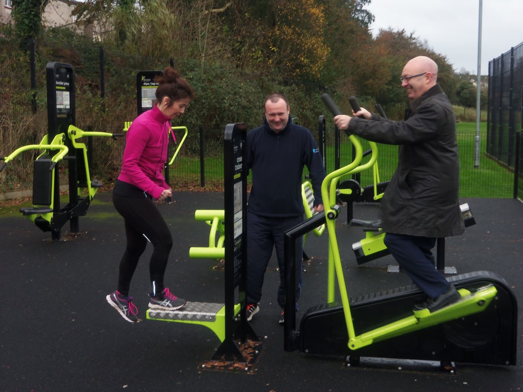 Outdoor gym programme in Lisnaskea, Lisbellaw and Derrylin in the New Year 2016
