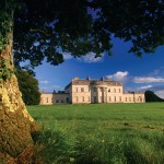Castle Coole (pronounced cool) is a late-eighteenth-century neo-classical mansion situated in Enniskillen, County Fermanagh, Northern Ireland. Set in a 1200 acre (5 km²) wooded estate, Castle Coole was constructed between 1789 and 1798 as the summer retreat of Armar Lowry-Corry, the 1st Earl of Belmore.