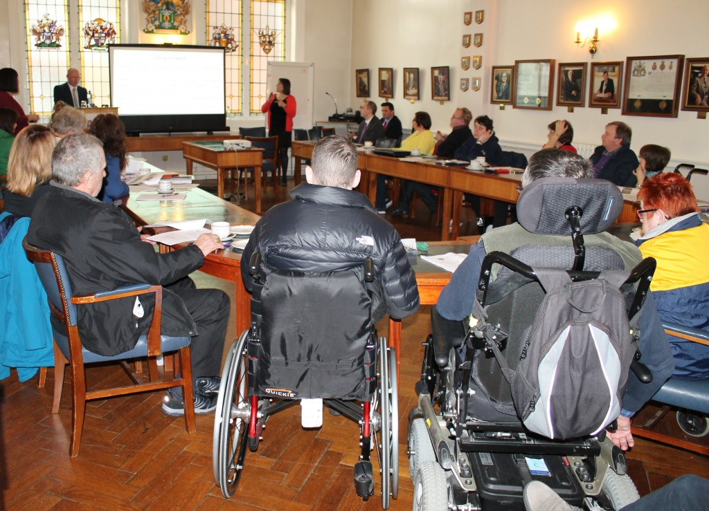 Information event for people with a disability in relation to Counicl services