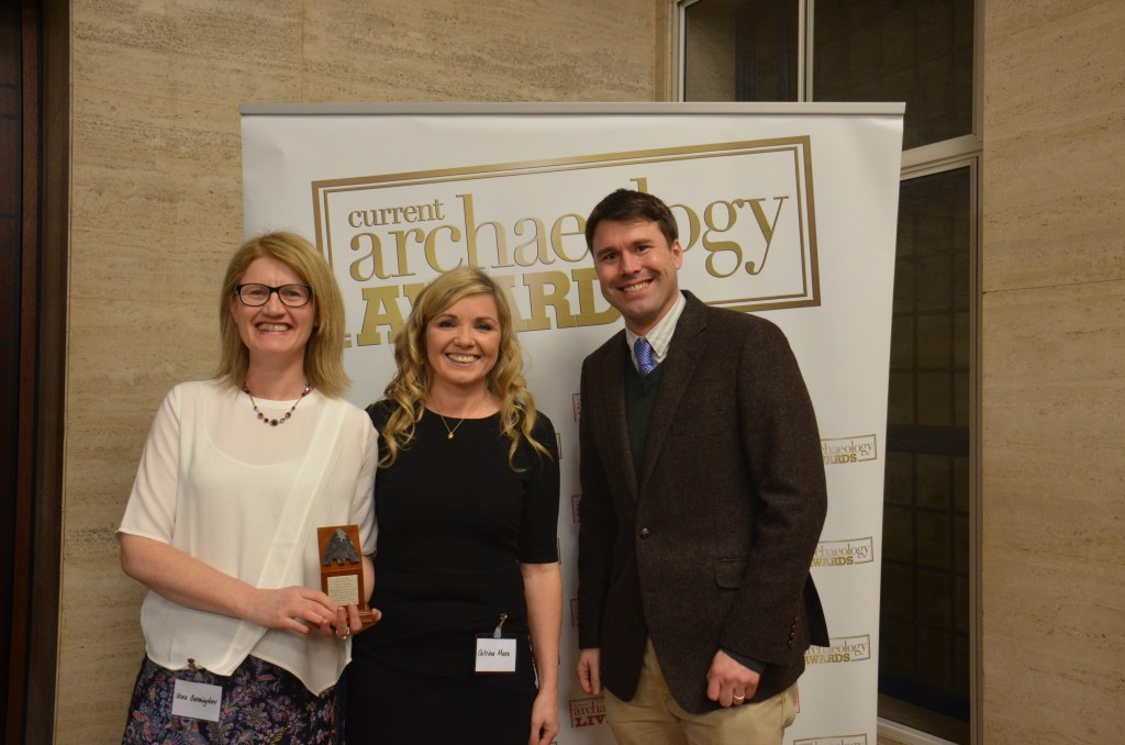 Drumclay Crannog wins at Current Archaeology Awards