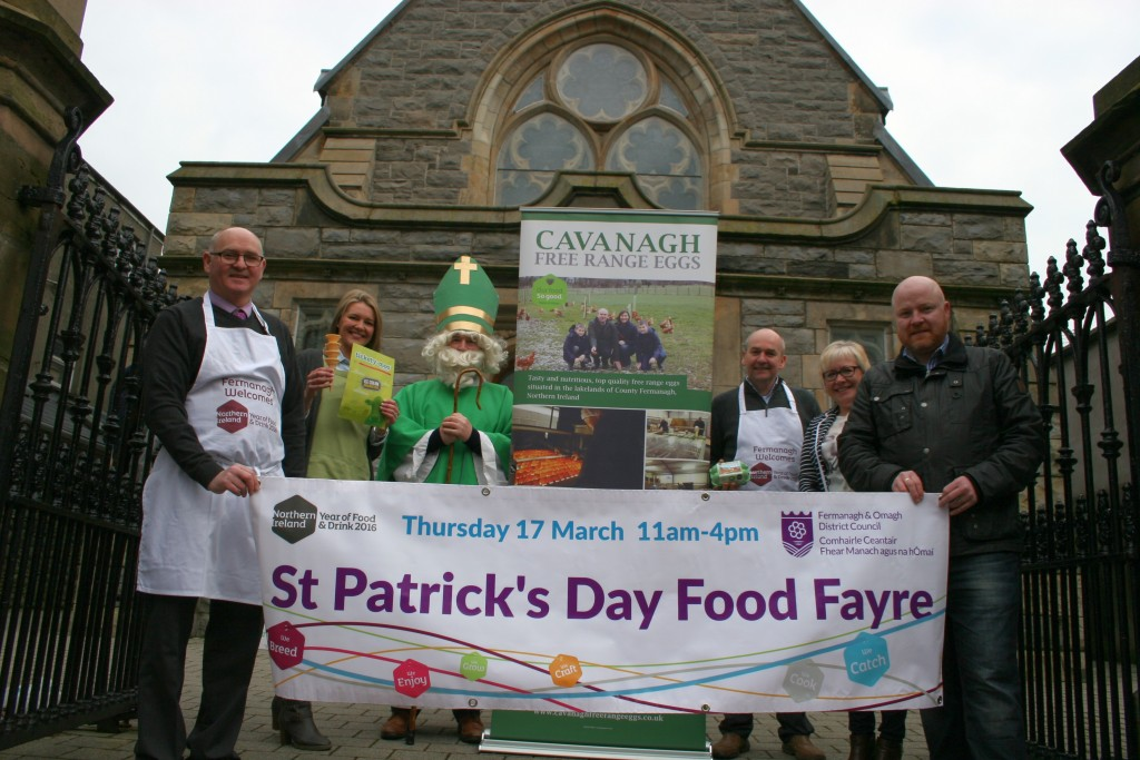 St Patrick's Day food fayre