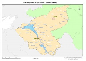 160412 Fermanagh Omagh Boundary Map