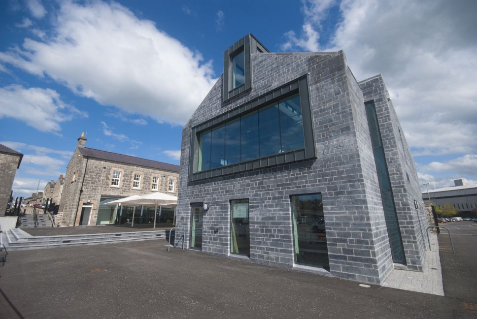 Visitor centre at Enniskillen Castle