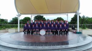 OPB AULD BOYS FLUTE BAND GROUP PHOTO
