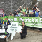 Launch of St Patrick's Day, Omagh 'Get Green for 17'