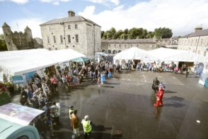 Crowds at Festival Lough Erne over the weekend 2