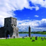 17249Boat Trip Early Christian site Lower Lough Erne