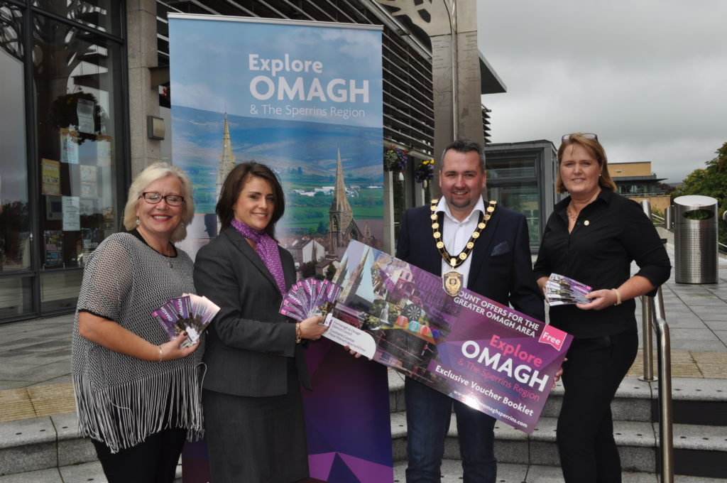 "Launch of ""Explore Omagh and teh Sperrins"" Discount Voucher Booklet"