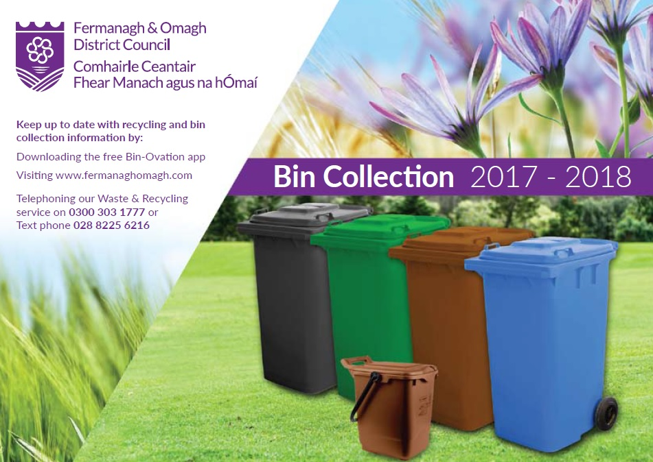 Bin collection calendar