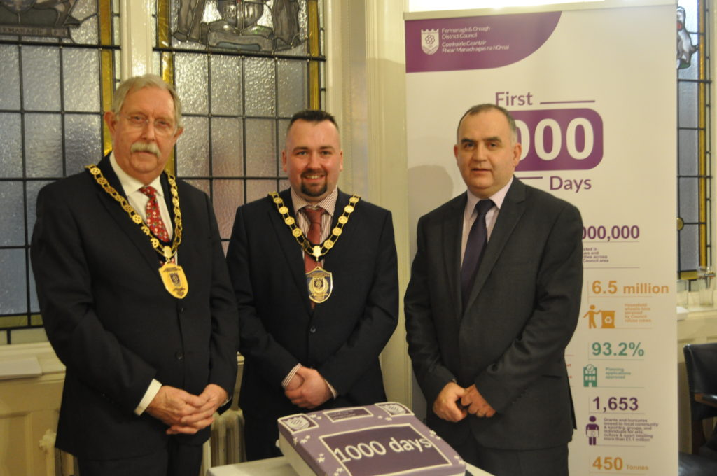 Fermanagh and Omagh District Council first 1000 days