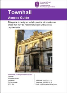 180530TownhallAccessGuideCover