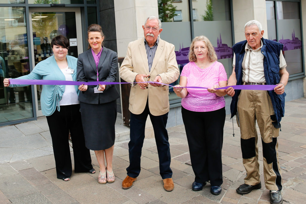 Official opening of Connect Centre, Omagh
