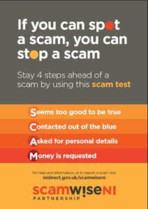 Scamwise poster