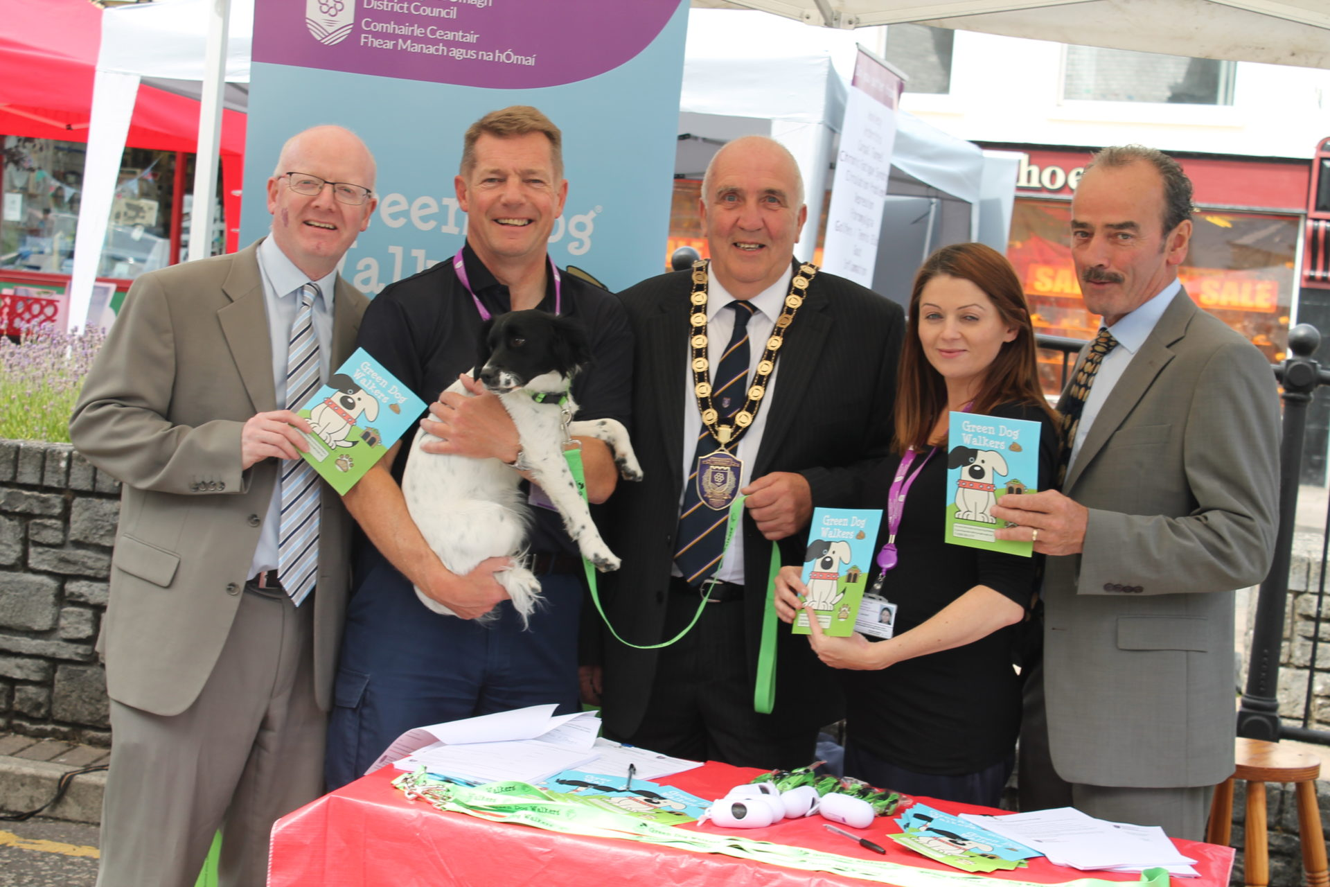 Green Dog Walkers launch