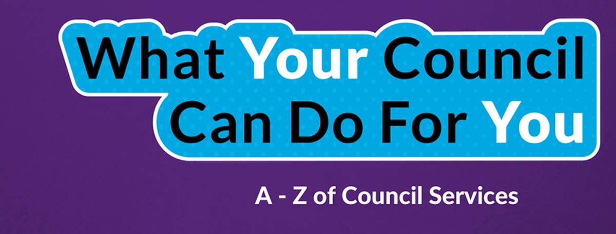 What your Council can do for you