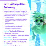 Intro to Competitive Swimming