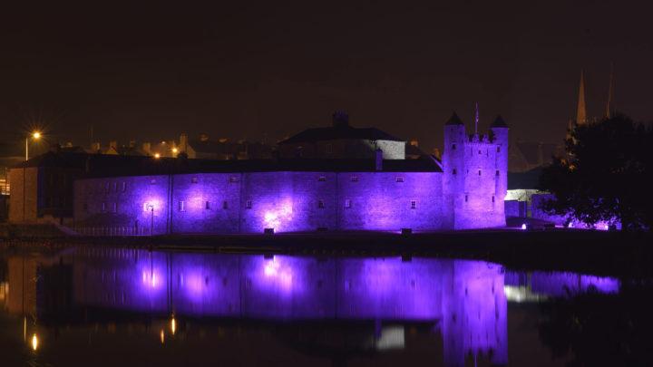 Purple   Enniskillen Castle 001