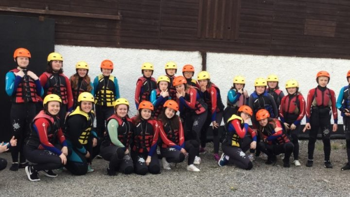 Waterways Group enjoy the activities at Share Discovery Village