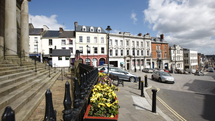 Omagh town centre