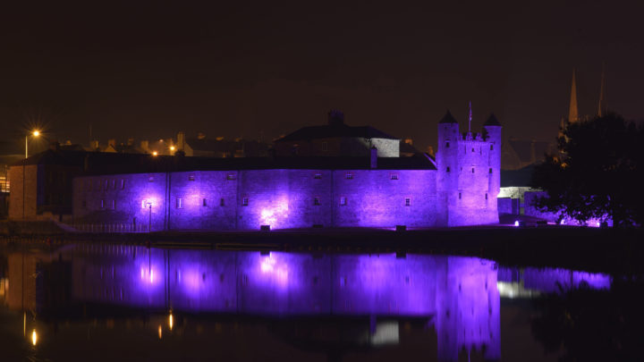 Purple   Enniskillen Castle 001