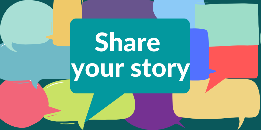 Share your story Twitter