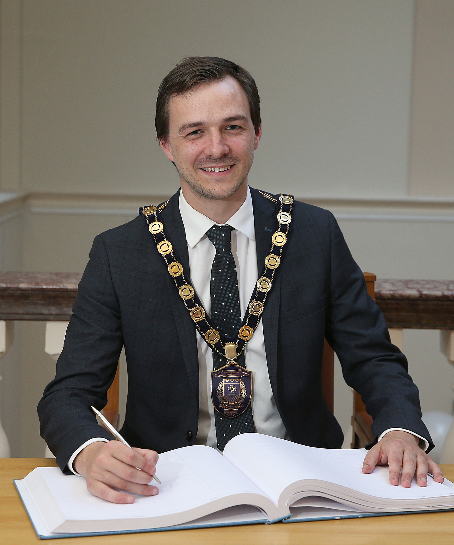 Chairman, Councillor Chris Smyth
