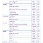 FLF Class Timetable