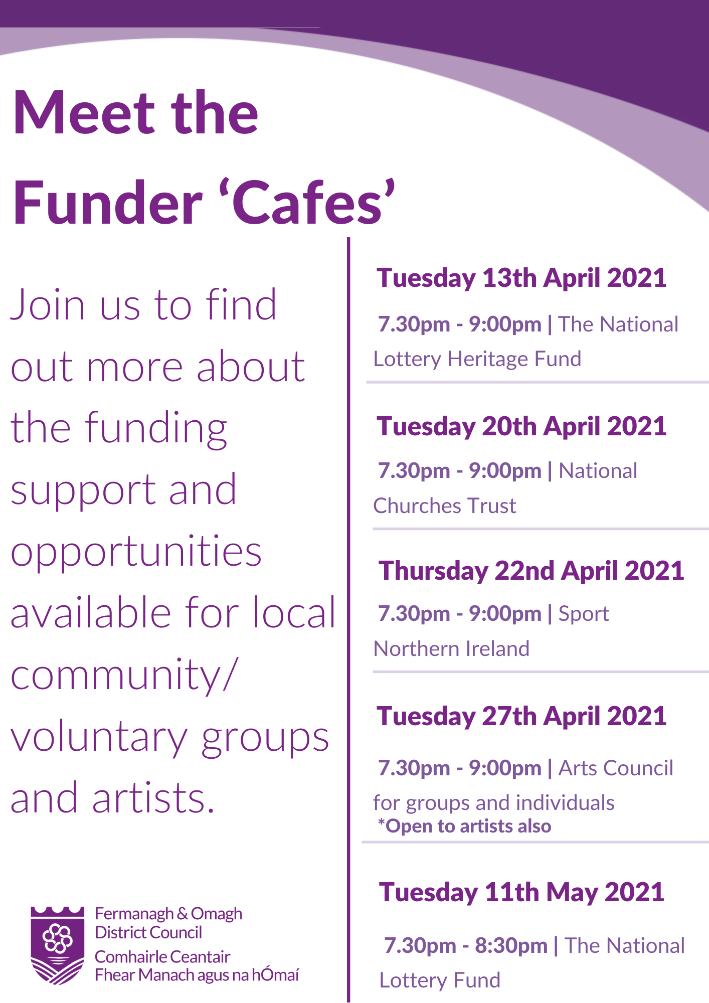 Funding cafe 2021
