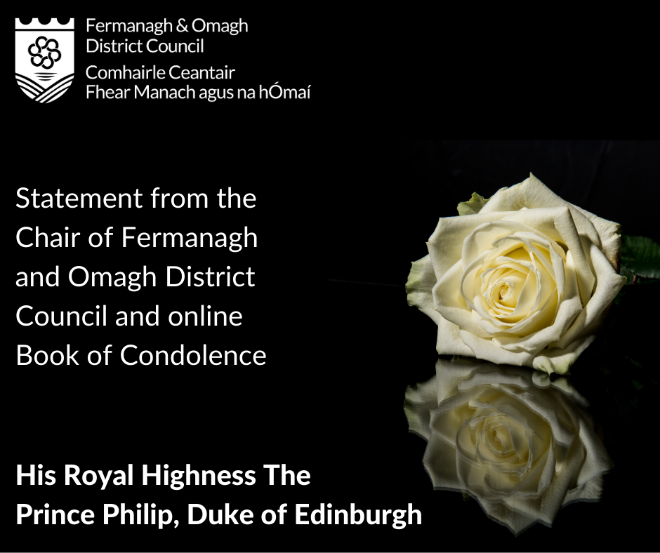 Prince Philip   Statement and Book of Condoldence