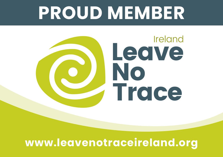 Leave No Trace Ireland Proud Member Sticker